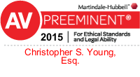 Preeminent 2015 Christopher S. Young Esq.